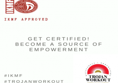 Trojan Workout instructor certification; on 19-20 October, Munich, Germany